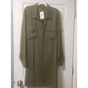 Dresses & Skirts - Tab shirt dress